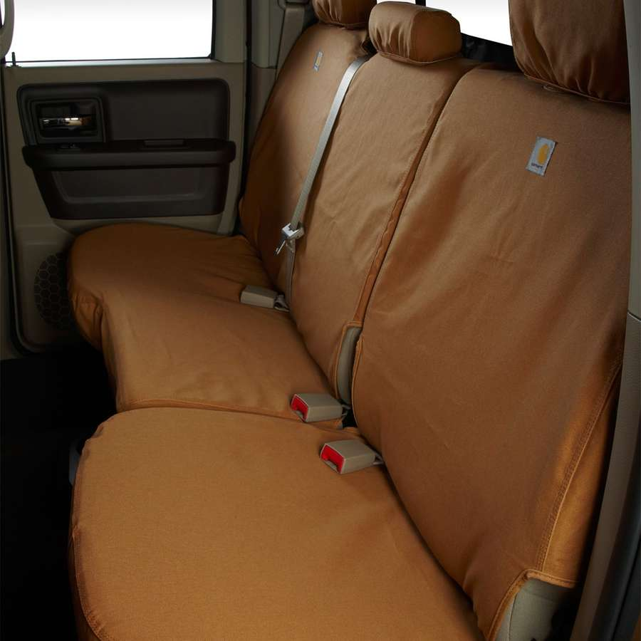 CARHARTT SEATSAVER CUSTOM REAR SEAT COVERS 2000-2004 TOYOTA TACOMA - Free Shipping on orders over $100 - Venture Overland Company