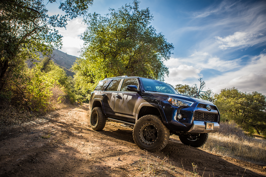 2016-2020 Toyota Tacoma FOX SHOX PERFORMANCE SERIES 2.0 SMOOTH BODY RESERVOIR SHOCK - Free Shipping on orders over $100 - Venture Overland Company