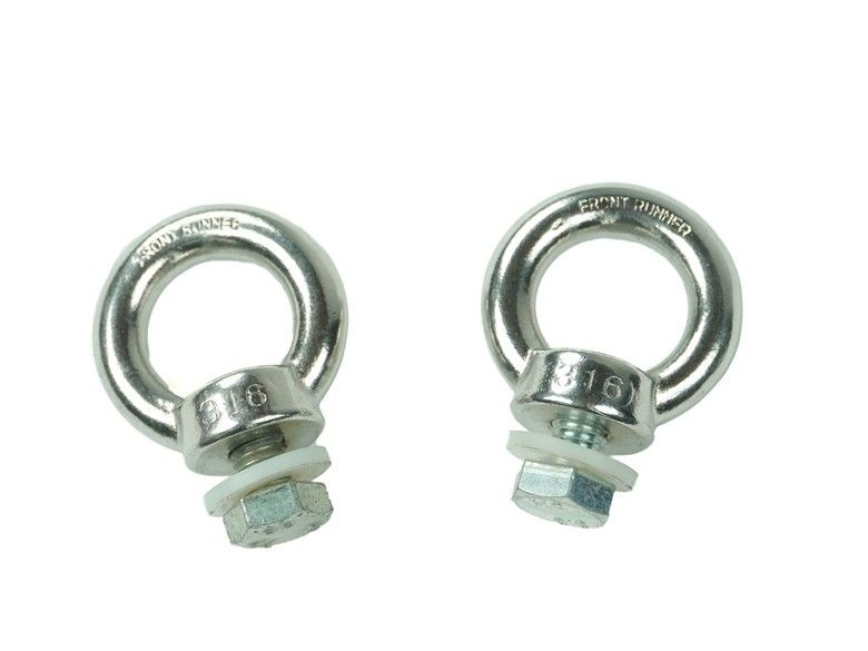 Front Runner Stainless Tie Down Rings - Free Shipping on orders over $100 - Venture Overland Company