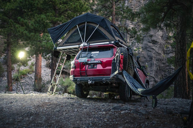 High Country Roof Top Tent on 4runner ... & High Country Series Roof Top Tent u2013 Venture Overland Company