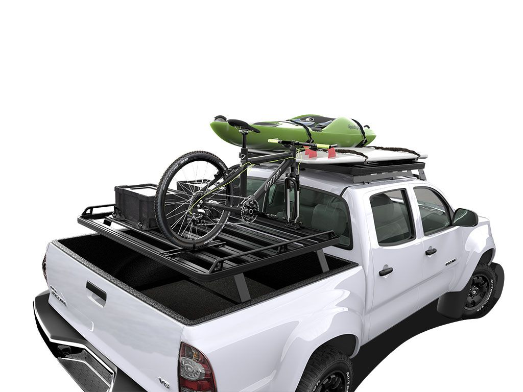 Front Runner Toyota 2nd Gen Tacoma (2005-Current) Slimline II Load Bed Rack Kit - Free Shipping on orders over $100 - Venture Overland Company