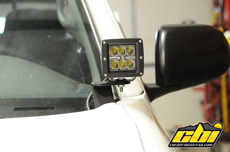 Toyota 2nd Gen Tacoma (2005-2015) Ditch Light Brackets - Free Shipping on orders over $100 - Venture Overland Company