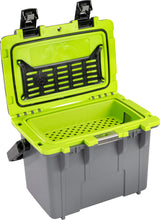 Load image into Gallery viewer, Pelican 14QT Personal Cooler- Gray/Lime - Free Shipping on orders over $100 - Venture Overland Company