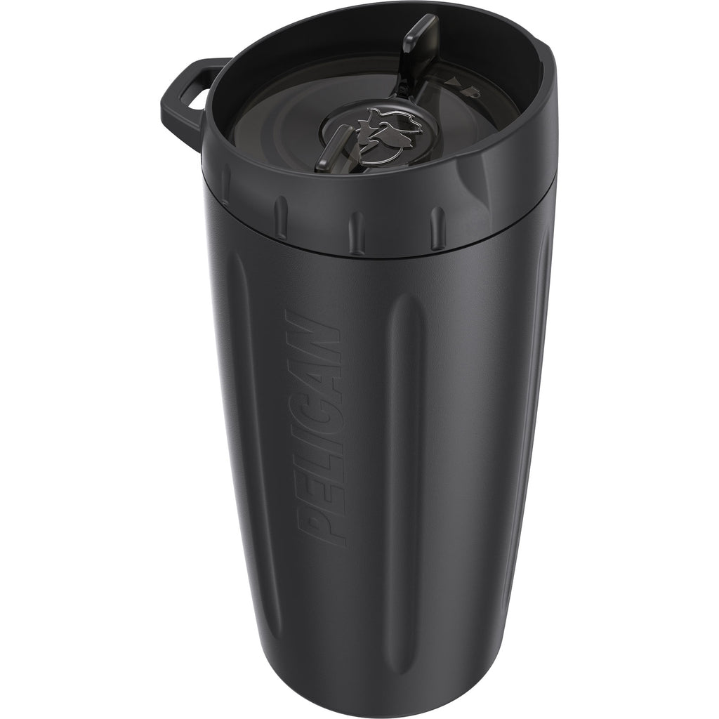 Pelican 16oz Dayventure Tumbler- Black - Free Shipping on orders over $100 - Venture Overland Company