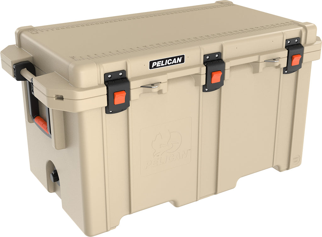 Pelican 150QT Elite Cooler- Tan - Free Shipping on orders over $100 - Venture Overland Company