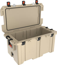 Load image into Gallery viewer, Pelican 150QT Elite Cooler- Tan - Free Shipping on orders over $100 - Venture Overland Company