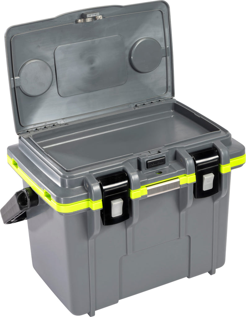 Pelican 14QT Personal Cooler- Gray/Lime - Free Shipping on orders over $100 - Venture Overland Company