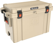 Load image into Gallery viewer, Pelican 95QT Elite Cooler- Tan - Free Shipping on orders over $100 - Venture Overland Company