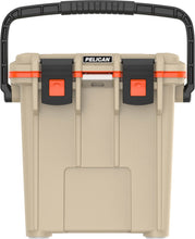 Load image into Gallery viewer, Pelican 20QT Elite Coolers -Tan/Orange - Free Shipping on orders over $100 - Venture Overland Company