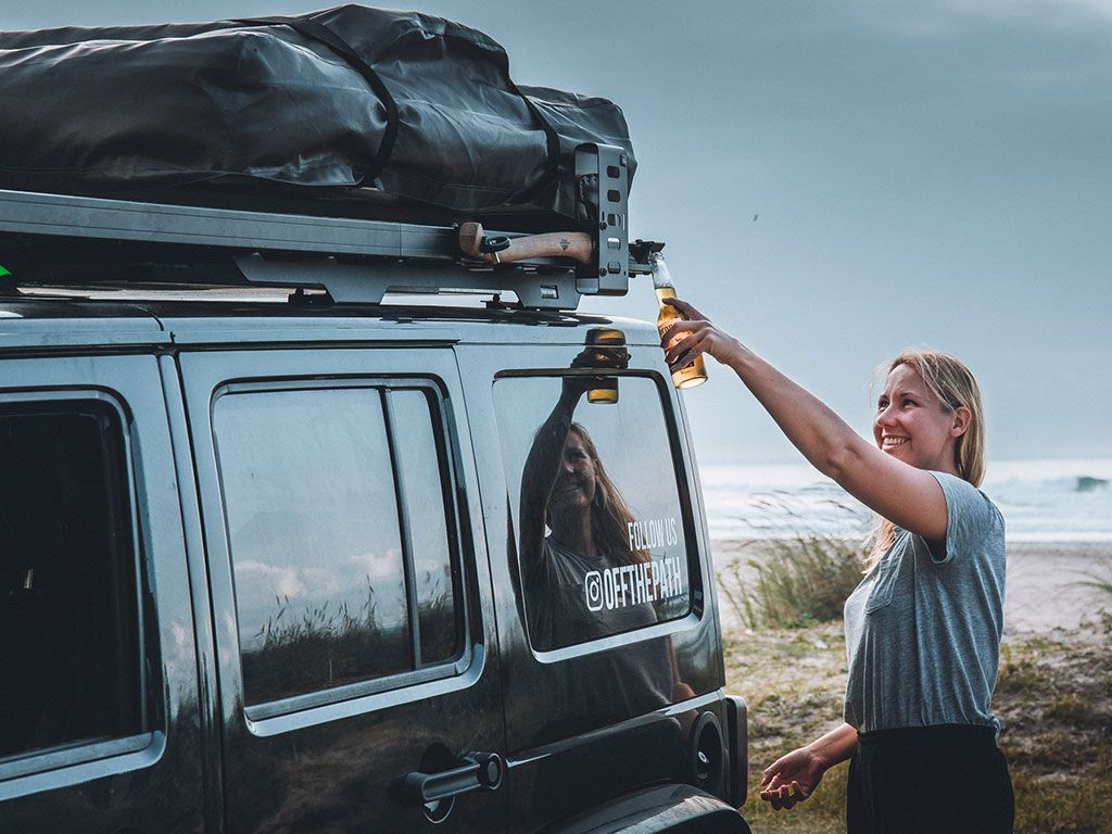 Front Runner Rack Mounted Bottle Opener - Free Shipping on orders over $100 - Venture Overland Company