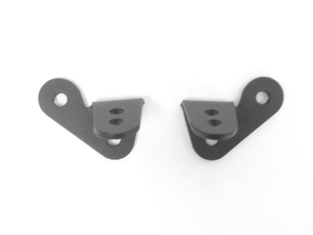 Jeep JK-JKU Single Ditch Light Brackets