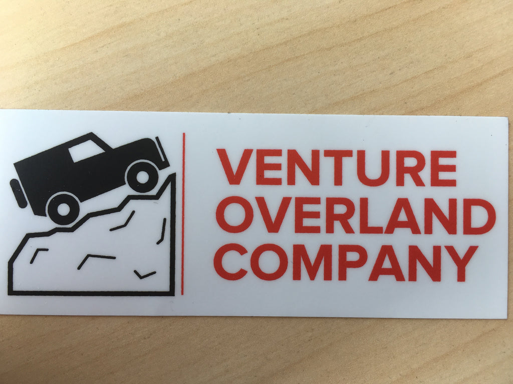 Sticker - Free Shipping on orders over $100 - Venture Overland Company