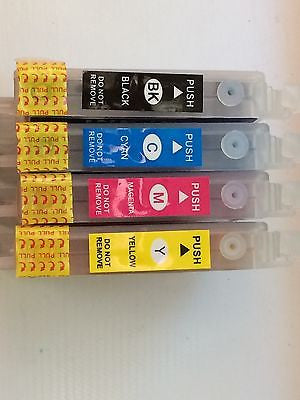 Refillable ink cartridges 63 for Epson C67 C87 CX3700 CX4100 CX4700 CX5700 7700