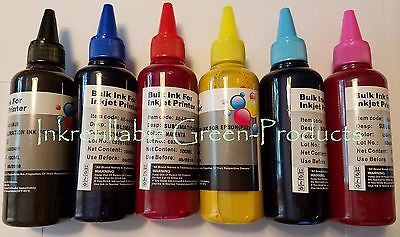 600ml Pigment sublimation Ink for Epson photo RX595 R260 R280 R380 RX580 RX680