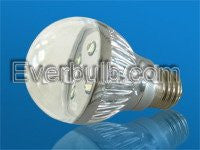 Yellow 5W HEHO LED bulbs replace 60W
