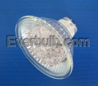 20 LED Red MR16 bulb replace 10W Halogen bulb