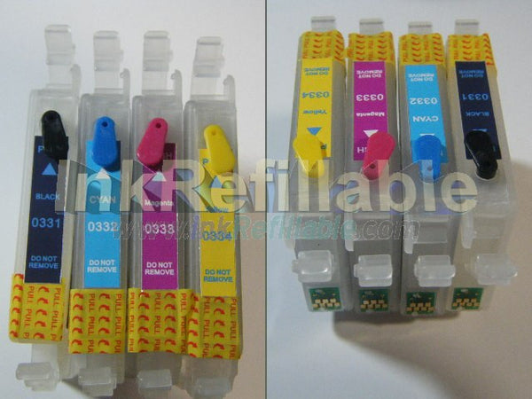 Refillable T0331 T0332 T0333 T0334 T0335 T0336 INK CARTRIDGE for Epson Stylus photo 910 950 960 MP950C printer