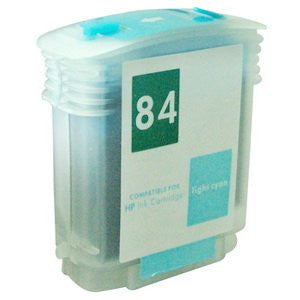 Refillable 84 light cyan ink cartridge C5017A for HP Designjet 10ps 20ps 50ps 130 120 series