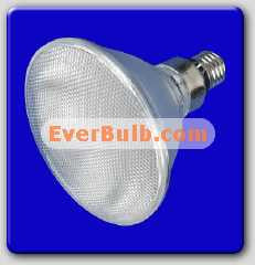 Red 60 LED light bulb PAR30 4W replace 60W standard E26