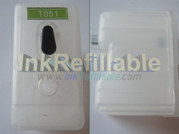 Refillable S189108 S020108 S020189 Black ink cartridge T051 Epson stylus color 850Ne 860 1160 1520 scan 2000 2500 pro printer