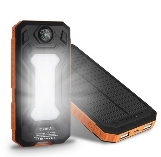 Solar Power Bank - Smart-Novelty.com