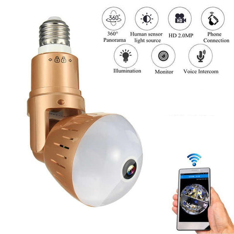 Wifi Light Bulb Security Camera - Smart-Novelty.com