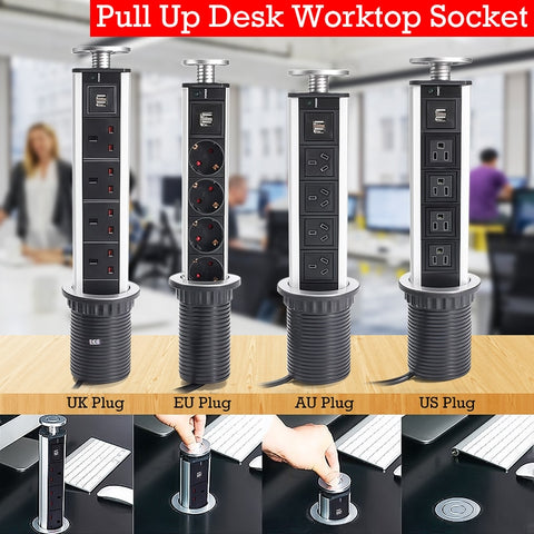 Pop-Up Worktop Socket - Smart-Novelty.com