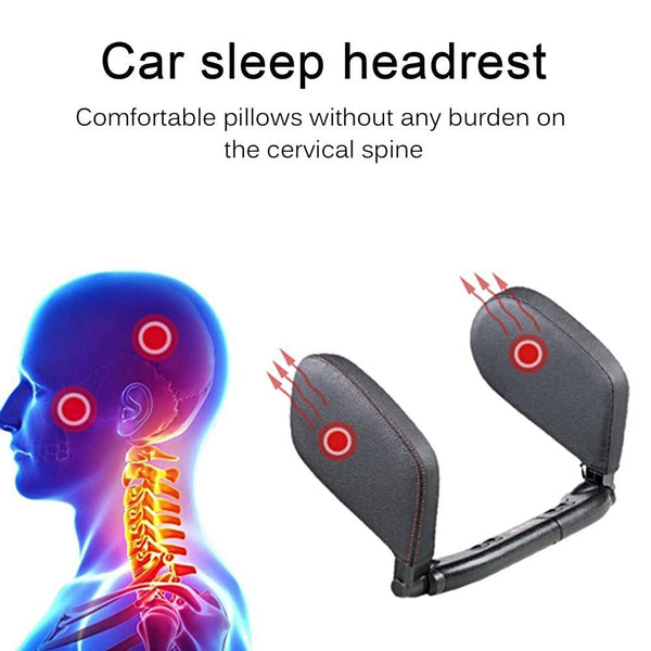 Adjustable Safe Car Seat Headrest - Smart-Novelty.com
