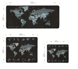World Map Gaming Mousepad - Smart-Novelty.com