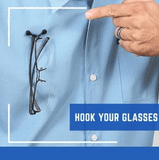 Magnetic Clip On Eyeglass Holder - Smart-Novelty.com