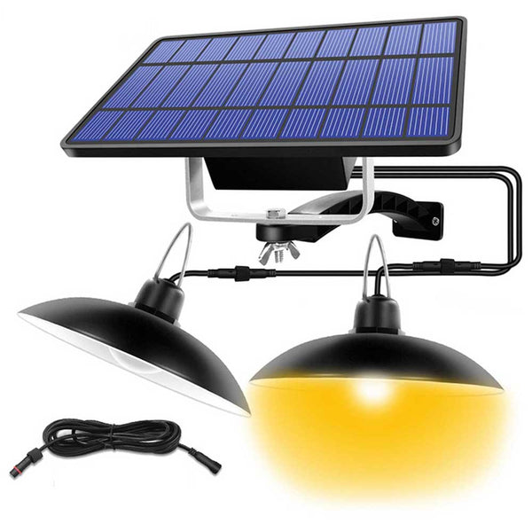 Double Head Solar Lamp