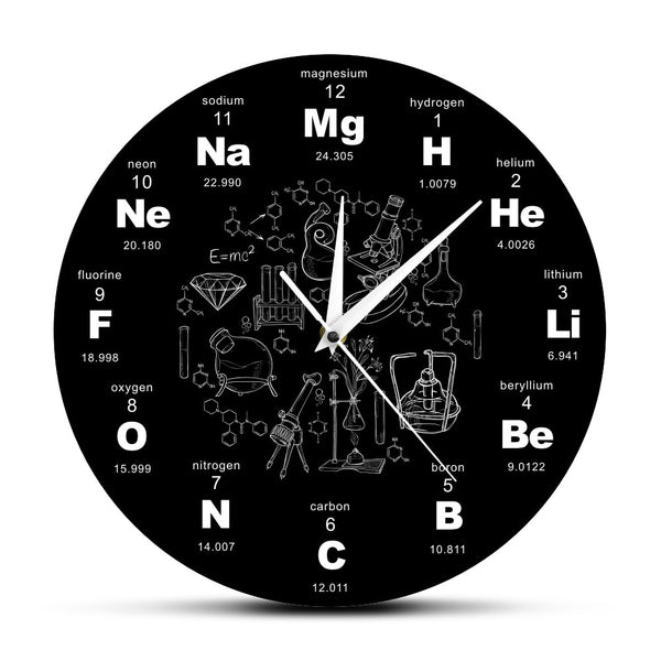 Periodic Table Of Elements Wall Clock - Smart-Novelty.com