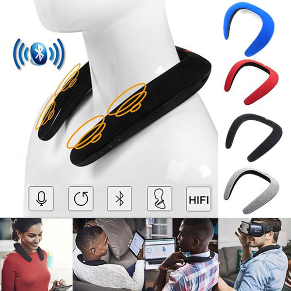 Neck Wireless Music Speaker - Smart-Novelty.com