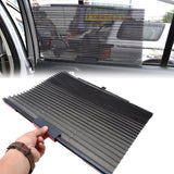 Car Side Window Retractable Curtain With UV Protection