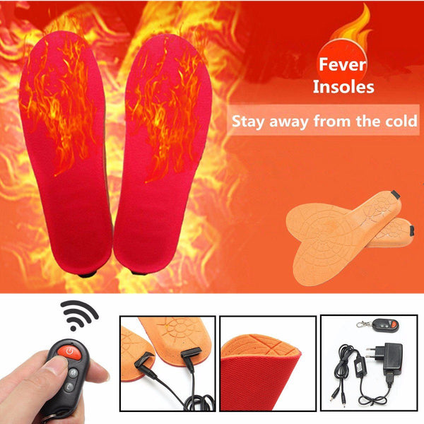 Rechargeable Heater Insoles - Smart-Novelty.com