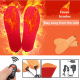 RECHARGEABLE HEATED INSOLES - Smart-Novelty.com