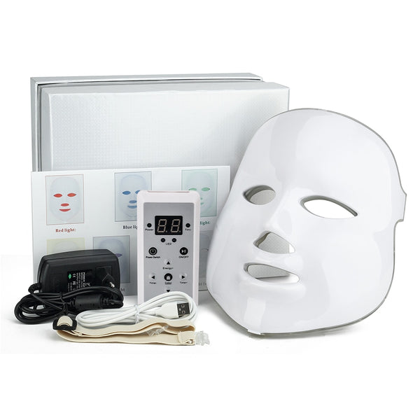 7 Colors Led Photon Therapy Face Mask - Smart-Novelty.com