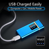 USB Electronic Lighter Customizable Free Curving - Smart-Novelty.com