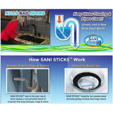 Magic Sticks Drain Cleaner and Deodorizer (12pcs/row) - Smart-Novelty.com