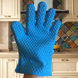 Chef Mitts  Heat Resistant Cooking Glove - Smart-Novelty.com