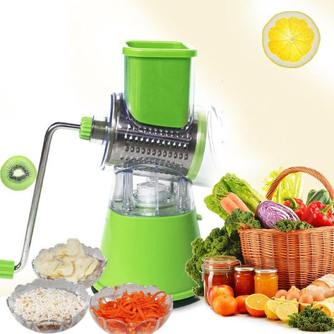 Multifunctional Vegetable Spiral Slicer Chopper