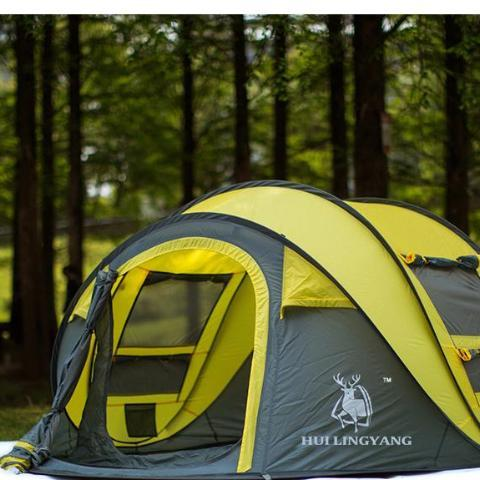 4-5 Persons Fully Automatic C&ing Tent & 4-5 Persons Fully Automatic Camping Tent u2013 Smart-Novelty.com