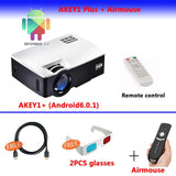 Smart Android 4K Support Digital Home Theatre Projector - Smart-Novelty.com
