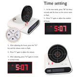 Shoot Alarm Clock - Smart-Novelty.com