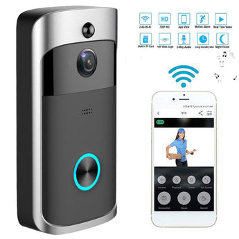 Smart Night Vision 720P/1080P Video Doorbell - Smart-Novelty.com