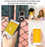 Waterproof Smart Lock With Fingerprint