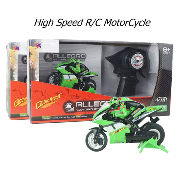 RC Nitro Motorcycle
