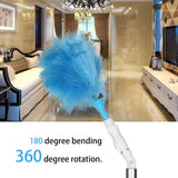 Spin Duster, Adjustable Electric Feather Duster, Multifunctional Vacuum Cleaner - Smart-Novelty.com