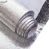 Waterproof Oil Proof Aluminum Foil Self Adhesive Wall Sticker - Smart-Novelty.com