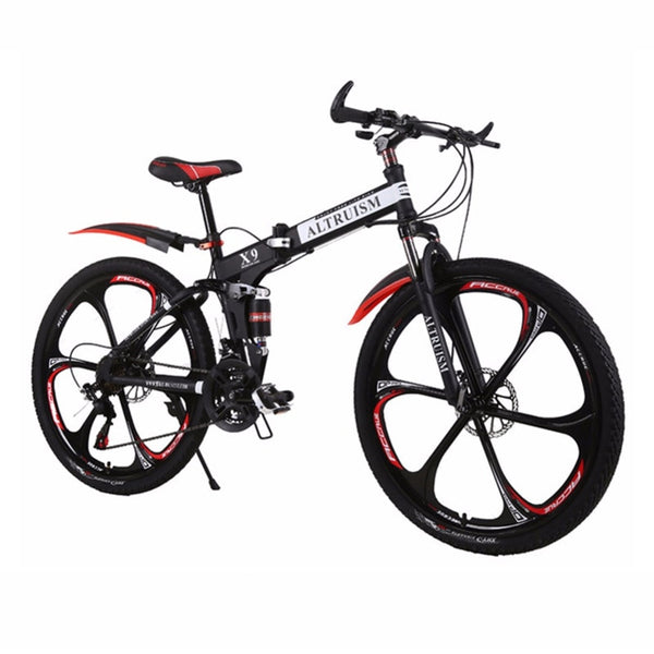 Mountain Racing 21-Speed Dual Disc Brakes Bike